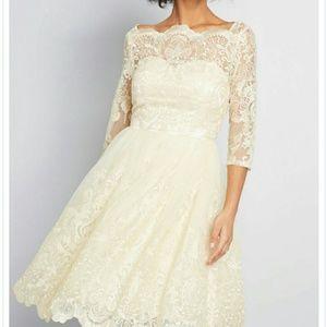 Chi Chi London Gilded Grace Dress size 8